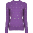 Georgine Dagher - HUISHAN ZHANG crystal embellished sweate - Pullovers -