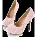 Elena Ekkah - Hairy Cashmere High Hills - Shoes -