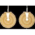 sandra  - Hanut Singh 18K Gold disk earrings - Earrings -