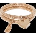 Qiou - Haven Heart & Tassel Bracelet - Pulseiras -