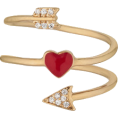 lence59 - Heart + Arrow Ring - Bracelets -