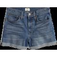 svijetlana2 - High-rise denim short in Brixton wash - Shorts -