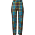 Mees Malanaphy - House of Holland - Tartan trousers - Capri & Cropped - $469.00