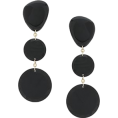 Georgine Dagher - ISABEL MARANT bright rounded earrings 16 - Earrings -