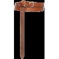 HalfMoonRun - ISABEL MARANT leather belt - Belt -