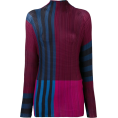 JecaKNS - ISSEY MIYAKE colour block top - Tuniche -