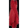 sandra  - Influential Asymmetrical Tiered Dress - Obleke -