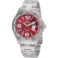 Invicta - Invicta Men's 0084 Invicta II Red Dial Stainless Steel Watch - Watches - $93.93