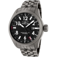 Invicta - Invicta Men's 0190 Force Collection Black Dial Matte Grey Stainless Steel Watch - Watches - $169.00