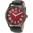 Invicta - Invicta Men's 11433 Specialty Red Dial Black Leather Watch - Watches - $83.64
