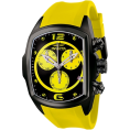 Invicta - Invicta Men's 6726 Lupah Collection Chronograph Black Ion-Plated Yellow Rubber Watch - Watches - $164.83  ~ £125.27