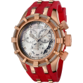Invicta - Invicta Women's 6952 Reserve Collection Bolt Chronograph Red Polyurethane Watch - Watches - $254.99