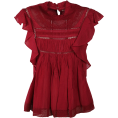 vespagirl - Isabel Marant ã Toile Vivia Blouse - Shirts - $231.11
