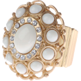 Angieberrys  - Ivory Ring - Rings - £11.00  ~ $14.47