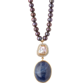 Qiou - JADE JAGGER  18kt gold, sapphire & pearl - Necklaces -