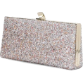 Georgine Dagher - JIMMY CHOO Celeste glinsterde de clutch - Clutch bags -