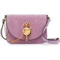 beautifulplace - JW Anderson Nano Key Suede Crossbody Bag - Bolsas pequenas -