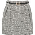 sandra  - Jacquard Belted Skirt Forever New - Saias -