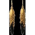 sandra  - Jacqueline Cullen - Hand Carved earrings - Earrings -