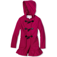 Jessica Simpson - Jessica Simpson Coats Girls 7-16 Hooded Toggle Hot Pink - Jacket - coats - $39.50