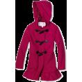 Jessica Simpson - Jessica Simpson Coats Girls 7-16 Hooded Toggle Hot Pink - Jacket - coats - $39.50