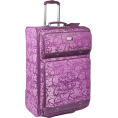 "Jessica Simpson - Jessica Simpson Luggage Signature Jacquard 28"" Expandable Upright Hollyhock - Travel bags - $113.99"