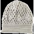 Jessica Simpson - Jessica Simpson Women's Crochet Scrunchy Beanie Grey - Cap - $24.50