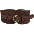 Jessica Simpson - Jessica Simpson Women's Stretch Suede Belt Brown - Belt - $36.00