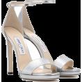 vespagirl - Jimmy Choo Misty 120 Silver Sandal - Sandals - $850.00