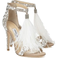 thenycbaglady - Jimmy-Choo-Ostrich-Feather-Crystal-Shoes - Classic shoes & Pumps -