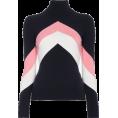spabrah - JoosTricot chevron pink white black  - Pullovers -