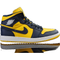 Stanleyytu - Jordan 1 Navy-Blue/Tour Yellow - Tênis -