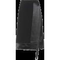 Stormbattereddragon  - Jude satin-trimmed crêpe skirt $ 795 - Skirts -