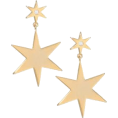 Mees Malanaphy - Jules Smith - Star drop earrings - Brincos - $60.00  ~ 51.53€