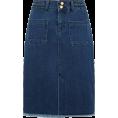 lence59 - Jupe en jean femme jean moyen PROMOD - Skirts -
