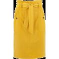 lence59 - Jupe paper bag femme ocre PROMOD - Krila -