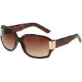 Kenneth Cole Reaction - KENNETH COLE REACTION Reptile Arm Sunglasses W/ Metal Temple [KC1052], Demi - Sunglasses - $15.00