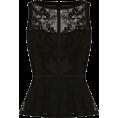 sandra  - Karen Millen Lace embroidery top - Tanks -