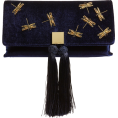 beautifulplace - Kasia Beaded Dragonfly Velvet Clutch TED - Clutch bags -