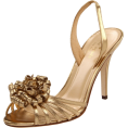 Amazon.com - Kate Spade New York Women's Colby Slingback Sandal Old Gold/Metallic Nappa - Sandals - $172.73