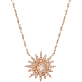 sandra  - Kenza Lee Sunburst Necklace - Necklaces -