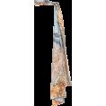 HalfMoonRun - LAKE STUDIO mixed print scarf - Cachecol -