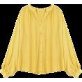 HalfMoonRun - LARUI oversized blouse - Shirts -