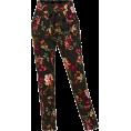 lence59 - LE3NO Floral Print Pants - Capri hlače -