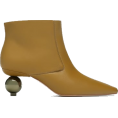 lence59 - LEATHER ROUNDED-HEEL ANKLE BOOTS - Boots -