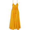 beautifulplace - LEE MATHEWS Lilla ruffled silk-crepon ma - Dresses -