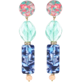 beautifulplace - LELE SADOUGHI Stacked Stone earrings - Brincos -