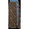 JecaKNS - LOEWE denim-trimmed printed wrap skirt - Skirts -