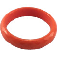 Mary Cheffer - LUCITE BANGLE BRACELET-ORG - Zapestnice - $6.99  ~ 6.00€