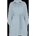 HalfMoonRun - LUISA BECCARIA cape coat - Kurtka -